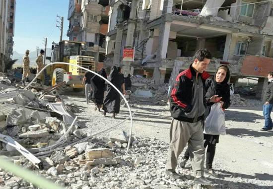 Сильное землетрясение случилось вИране: пострадали свыше 50 человек