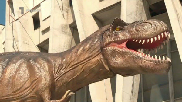 Exhibition of dinosaurs will open in the capital circus