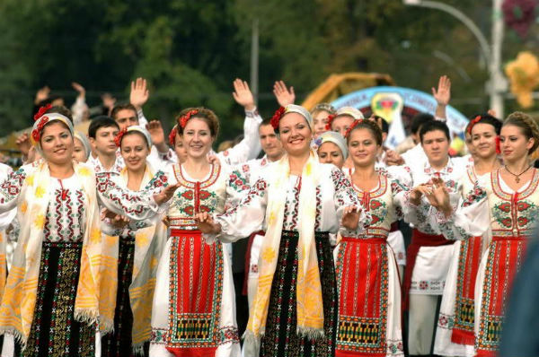 Moldovans are recognized as one of the skinniest in the world