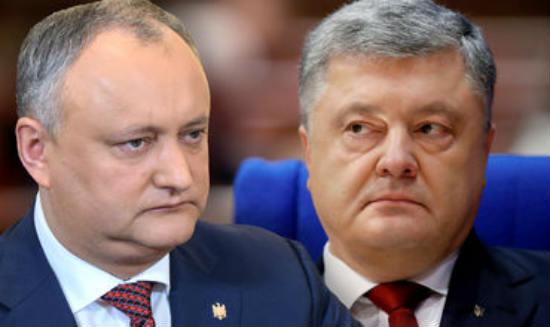 Igor Dodon refused to meet with Petro Poroshenko